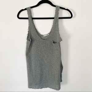 Lush knit tank top